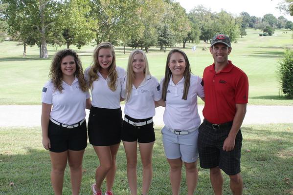 2015-2016 Women's Golf Team