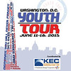 The 2015 Youth Tour program cover