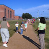 """Tuesday:  wear walking shoes – """"Character keeps us on track"""""""