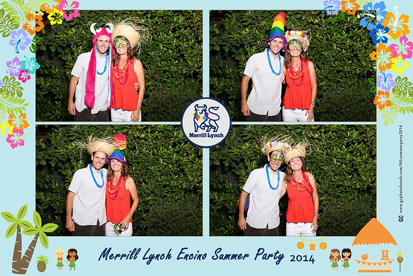 Merrill Lynch Summer Party Photobooth Prints