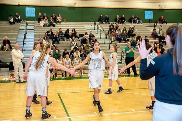 Skyline Girls Varsity vs Mt Si,  1-9-16