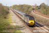 150415-015     Cross Country Trains class 43s nos 43378 & 43366 (top & tail) are seen passing North Stafford Junction, powering 1V50, the 06.06 Edinburgh to Plymouth.
