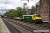 150520-041     Freightliner class 90 no 90042 passes through Atherton, powering Intermodal 4L90, 12.30 Crewe Basford Hall to Felixtowe South F.L.T.