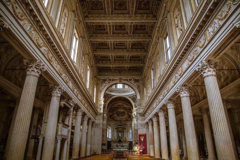 Basilica di Sant'Andrea Ceiling