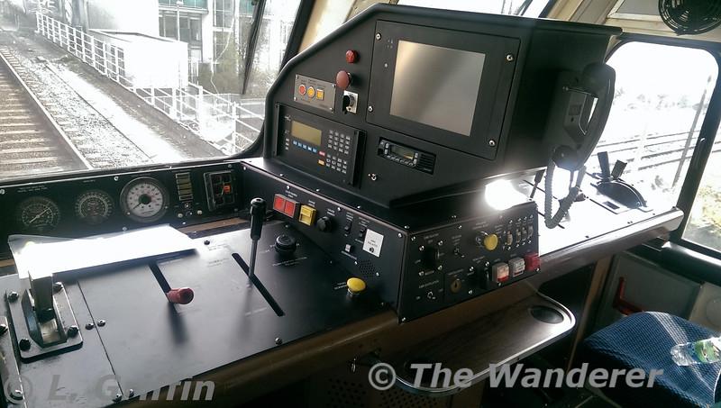 Interior of cab 206. Wed 22.04.15