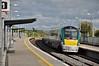22039 arrives into Portarlington with the 1625 Heuston - Limerick. Fri 24.04.15