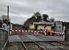 The Level Crossing Keeper opens Ashtown gates. Sat 07.02.15