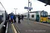 Passengers change trains at Limerick Jct. Fri 30.01.15