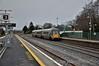 22057 1315 Heuston - Waterford passes Hazelhatch. Thurs 15.01.15