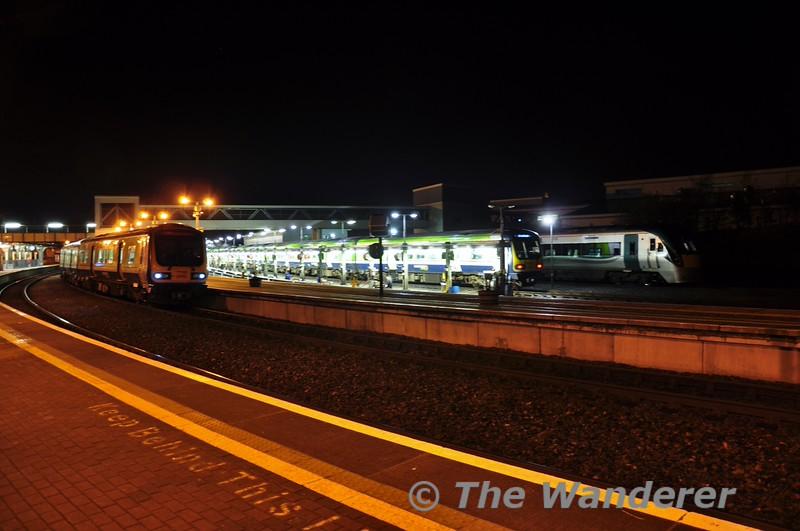 29013, 29016 and 22026 at Drogheda. Tues 06.01.15