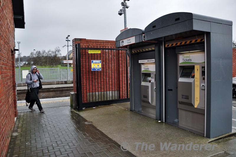 Ticket Vending Machines at Midleton. Thurs 12.03.15