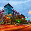 downtown of greenville south carolina around falls park