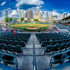 bbt baseball charlotte nc knights baseball stadium and city skyline