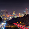nightime long exposure near columbia south carolina