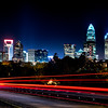 charlotte north carolina night scene