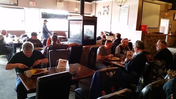 00 57 Kickoff Breakfast - Ride to Milton