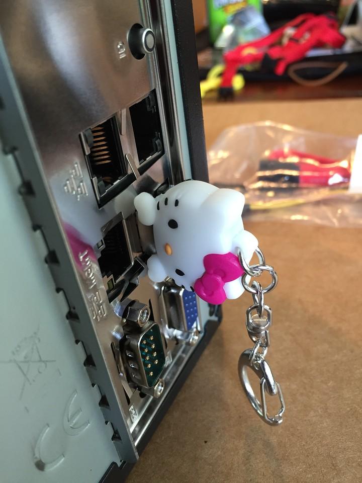Good job, Hello Kitty flash drive
