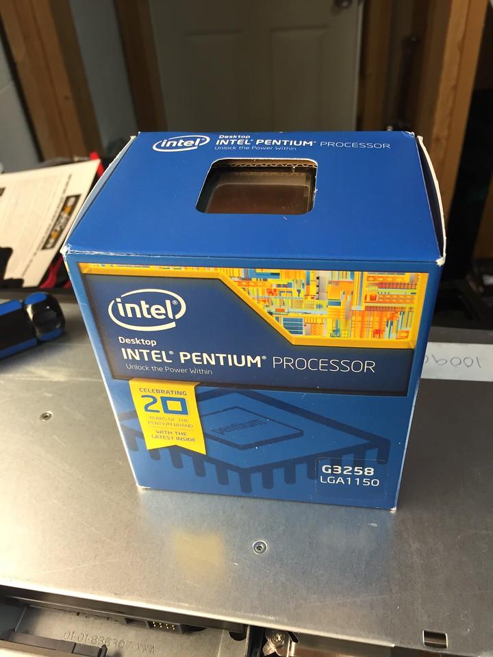 Intel G3258 Pentium 4 3.2GHz CPI