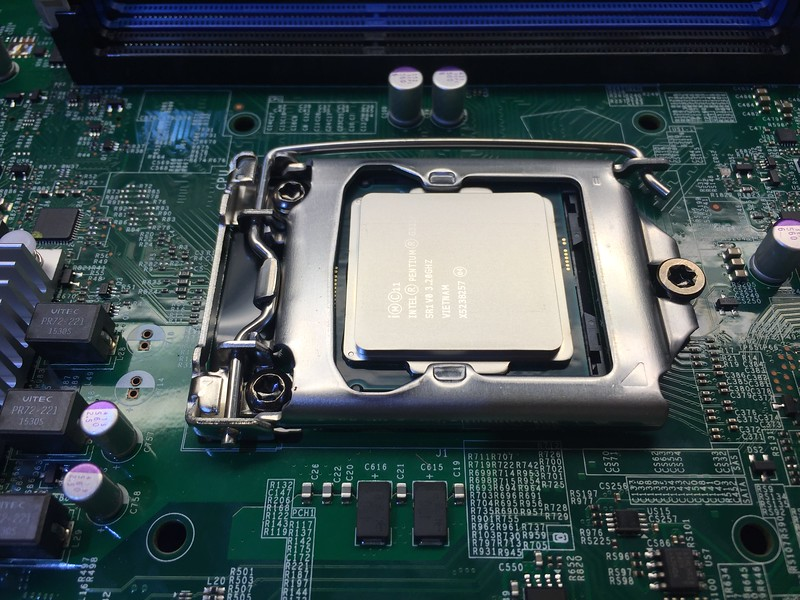 CPU Installed