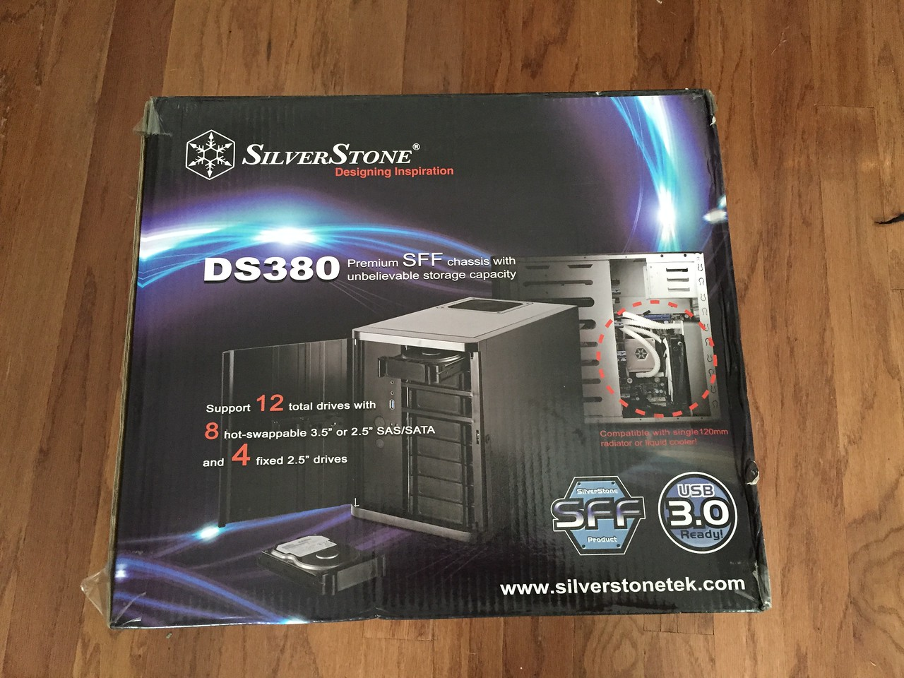 SilverStone DS380 Enclosure
