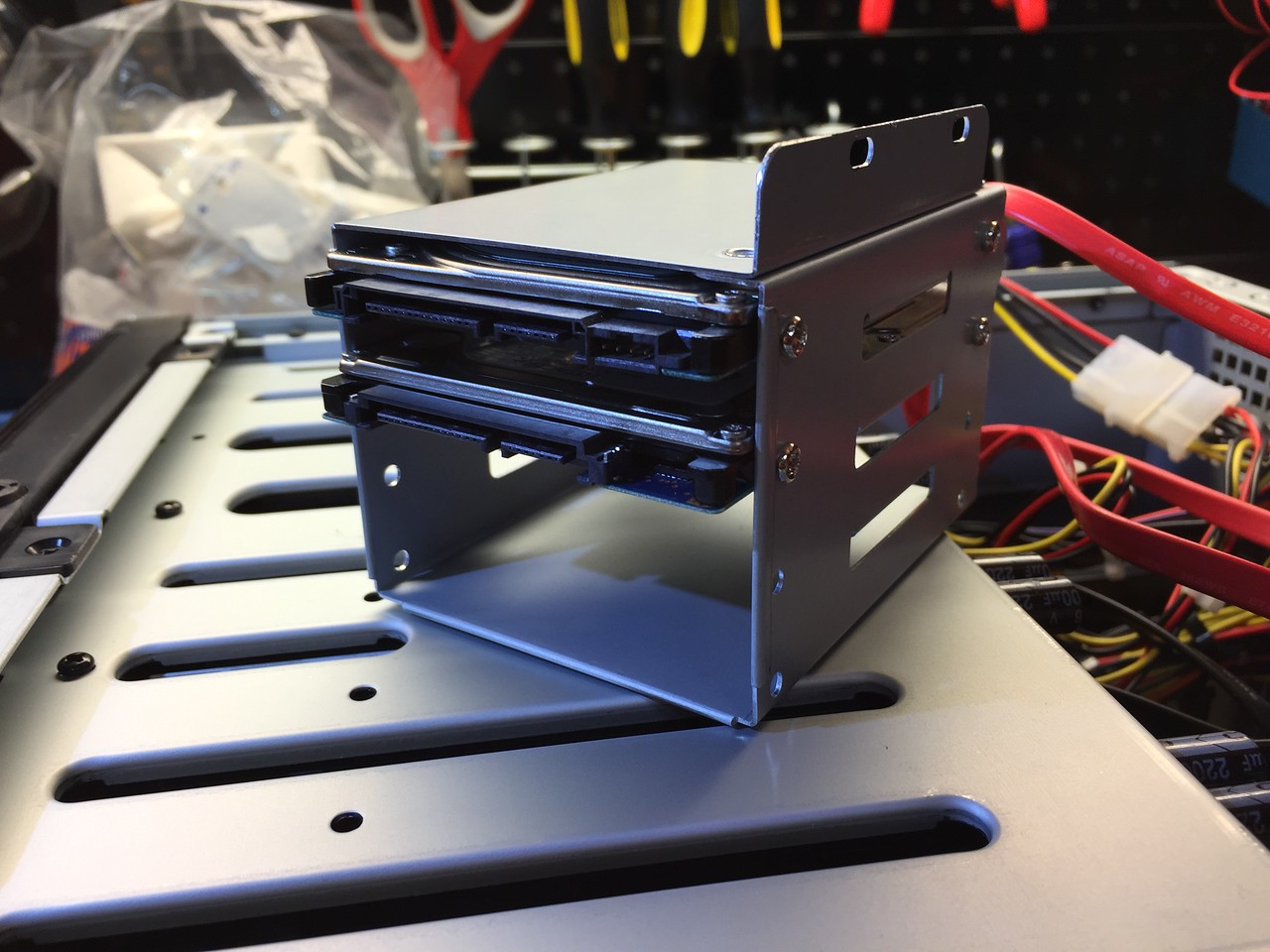 """Mounting the 2x mirrored 2.5"""" drives (home dirs, logs, etc)"""