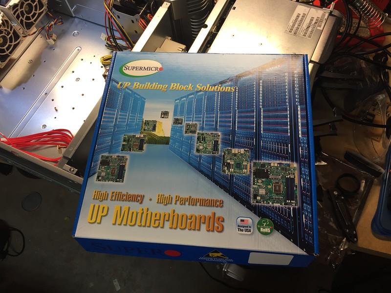 SuperMicro X10SL7-F motherboard