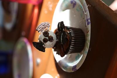 d. Panda Cupcake Snack