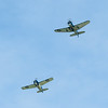 The Helldiver formation following the Potomac River sourth from Georgetown.