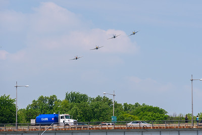 The Mustang formation was lower than most and turned directly toward us (south from Georgetown).