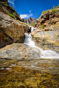 Seven Falls in Mid-October