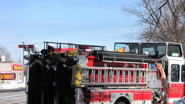 1/29/2015  Funeral Escort of New Britain (RET) Firefighter