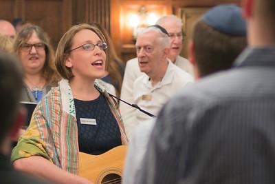 150703 Rabbi Gorban's First Shabbat Service