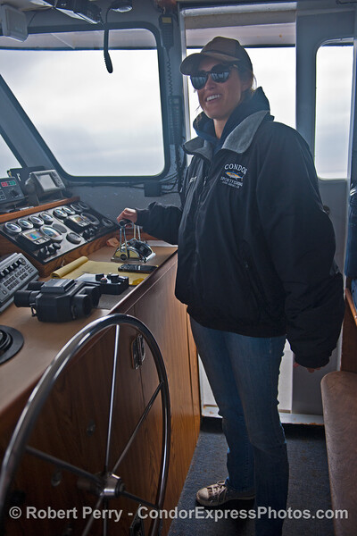 Tasha takes the helm of the Condor.