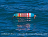 Float marker - lobster trap below.