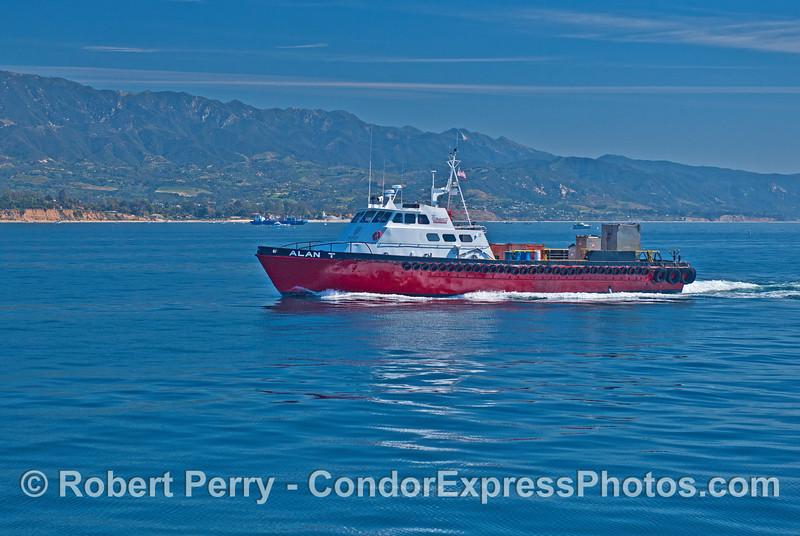 Alan T - oil platform support and crew transit vessel.