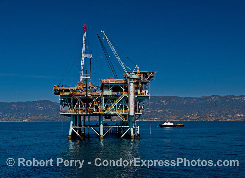 Offshore oil and gas platform Hogan.