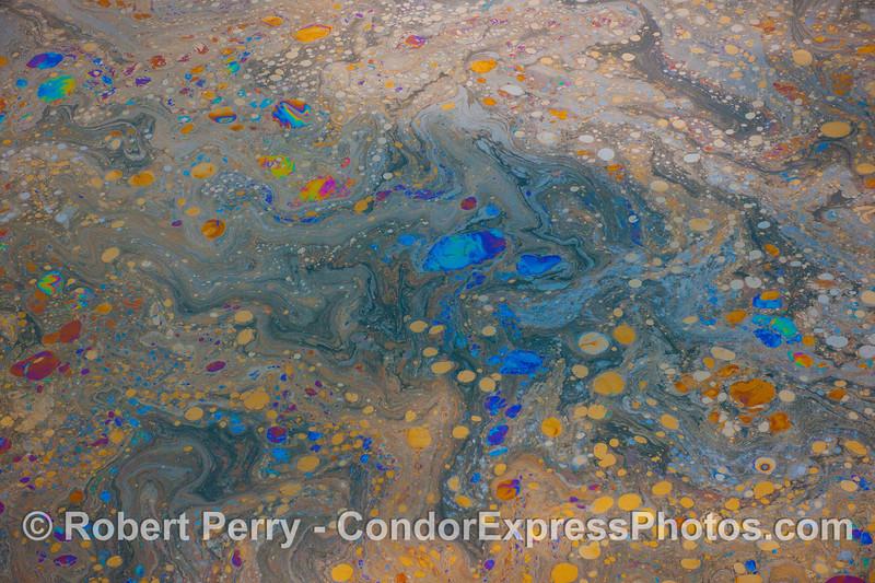 Abstract ocean surface - galaxies far and near