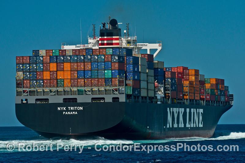 NYK Triton heading north