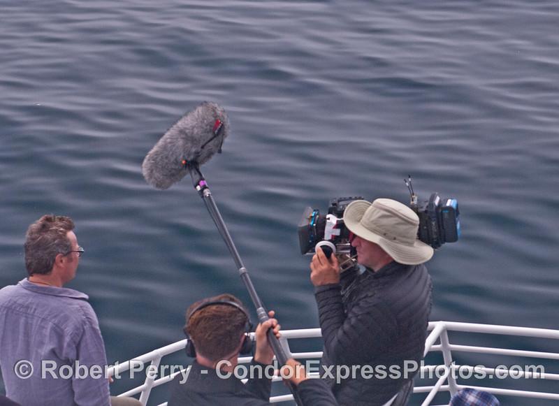 BBC TV crew