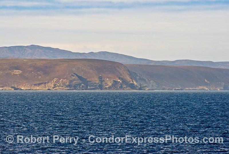 Near Carrington Point on Santa Rosa Island