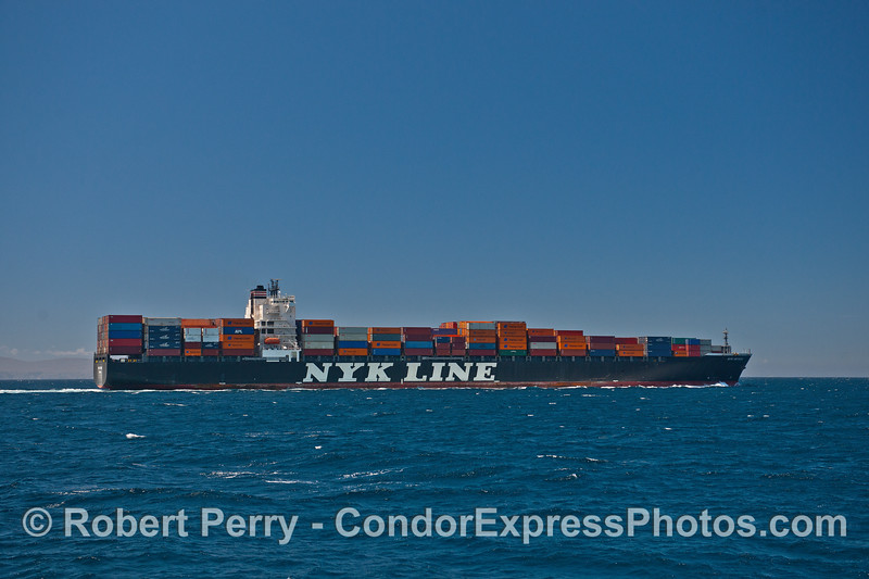 NYK Meteor - northbound for Oakland