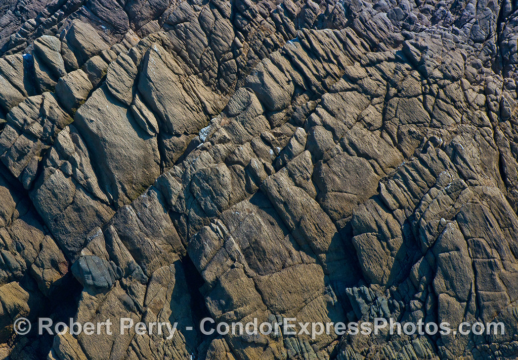Santa Cruz Island igneous rock cliffs