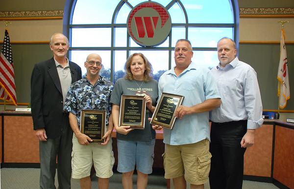 2015-09-03 Village Board Meeting - Staff Retirements