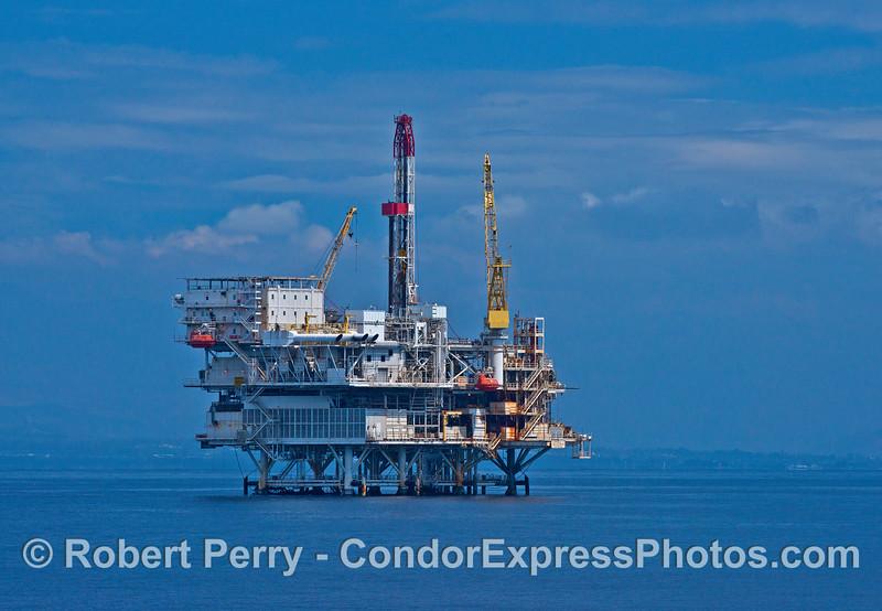 Offshore oil platform Gail.