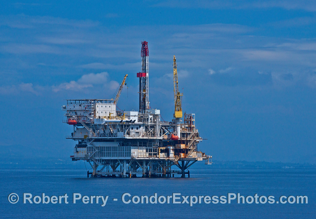 Offshore oil platform Gail.
