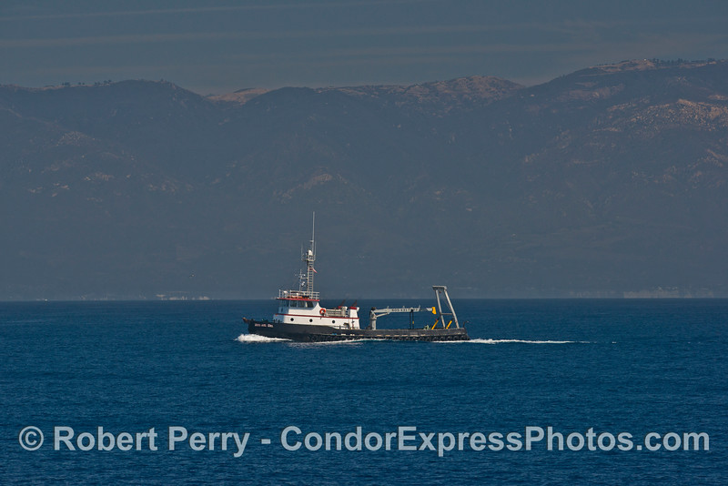 Michael Uhl, an 86-foot work boat out of Morro Bay.
