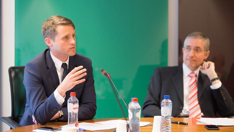 From left: Tómas Brynjólfsson, Director, EFTA Secretariat and Georges Baur, Assistant Secretary-General, EFTA Secretariat