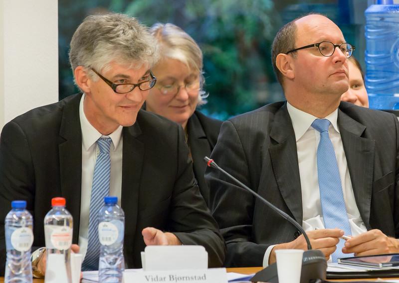 Mr. Vidar Bjørnstad, Co-Chair, EFTA Consultative Committee, Norwegian Confederation of Trade Unions and Mr Elfried Hasler, Co-Chair, EFTA Parliamentary Committee, Progressive Citizens' Party of Liechtenstein