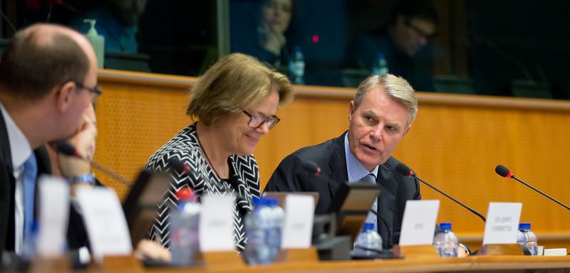 From Left:  Mr Elfried Hasler, Member of the Liechtenstein Parliament; Ms Oda Helen Sletnes, President-in-Office of the EEA Joint Committee, also representing the President-in-Office of the EEA Council; and Mr Sven Erik Svedman, President of the EFTA Surveillance Authority