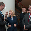 From left: Mr Elfried Hasler, Progressive Citizen's Party; Ms Aurelia Frick, Minister of Foreign Affairs; and Mr Harry Quaderer, Independent